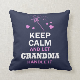 LET GRANDMA HANDLE IT... CUSHION