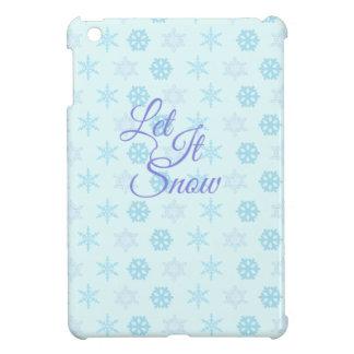 Let it be Snowy Christmas iPad Mini Case