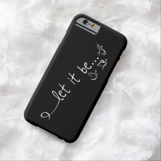 Let it be with doves - tattoo art barely there iPhone 6 case
