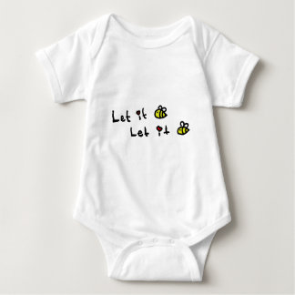 Let it Bee Baby Bodysuit