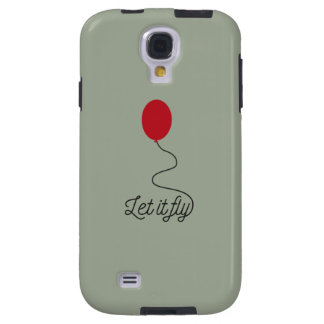 Let it fly balloon Ziw7l Galaxy S4 Case