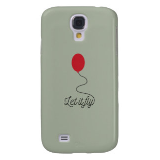 Let it fly balloon Ziw7l Galaxy S4 Cover
