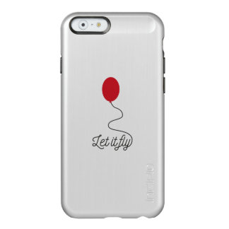 Let it fly balloon Ziw7l Incipio Feather® Shine iPhone 6 Case