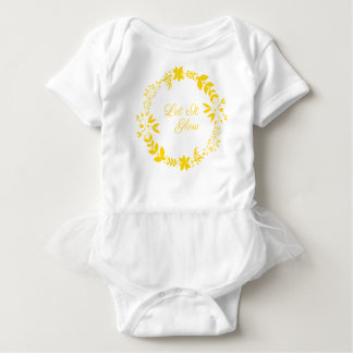 Let It Glow Baby Bodysuit