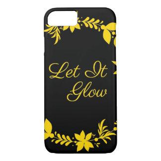 Let It Glow iPhone 8/7 Case