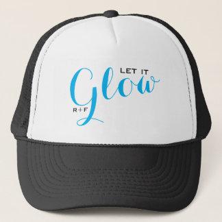 let it GLOW trucker hat