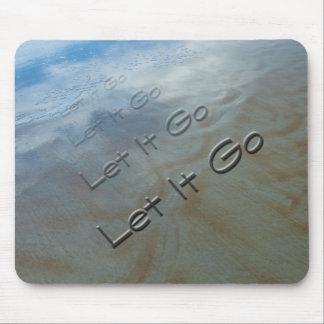 Let It Go Mouse Pad