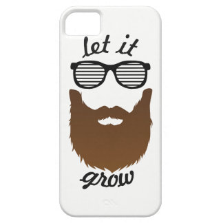 Let it grow barely there iPhone 5 case