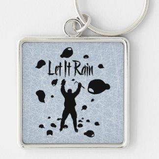 Let It Rain Key Chain
