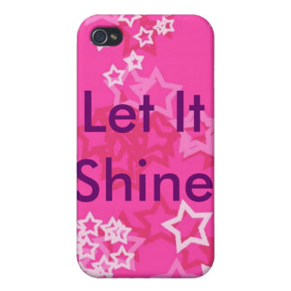 Let It Shine iPhone 4/4S Cases