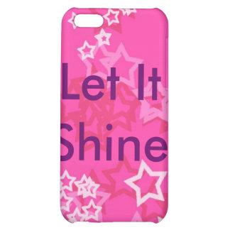 Let It Shine iPhone 5C Cases