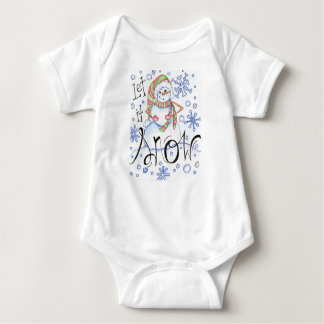 let-it-snow baby bodysuit