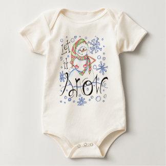 let-it-snow baby bodysuit