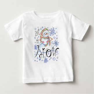 let-it-snow baby T-Shirt