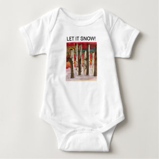"""Let It Snow"" bodysuit"