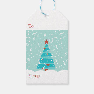 """Let it Snow"", Christmas Gift Tags"