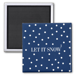 Let It Snow Christmas Holiday Magnet