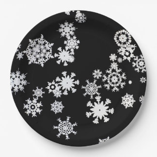 Let It Snow! Christmas Party Paper Plates