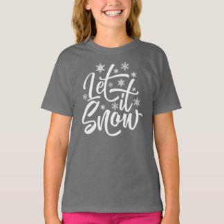 Let it Snow Christmas   Shirt