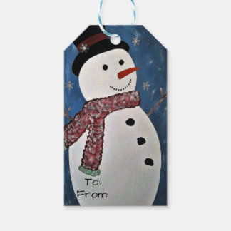 Let It Snow Christmas Tags