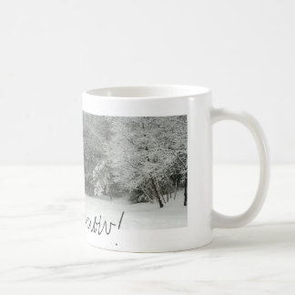 Let it snow! coffee mug