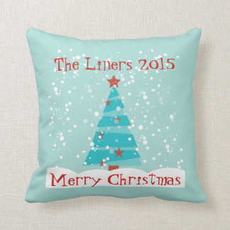 Let it Snow Custom Christmas Pillow