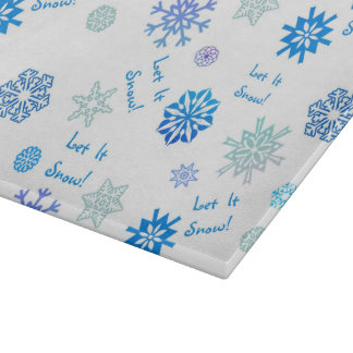 Let It Snow Cutting Boards