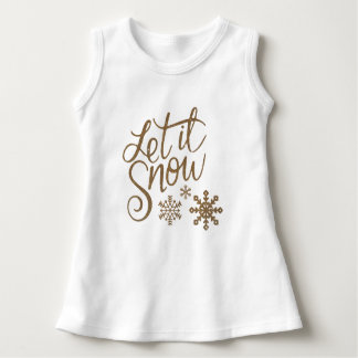 Let It Snow Dress
