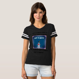 Let it snow! Football jersey T-Shirt