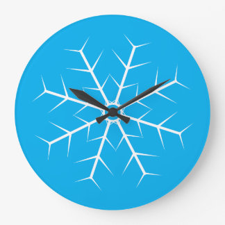 Let It Snow Frozen Clock