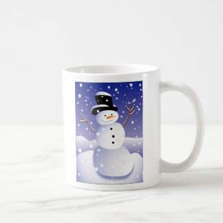 Let it snow, man! coffee mug