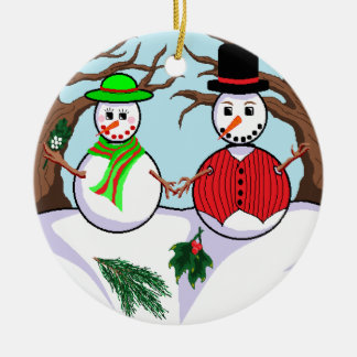"""Let It Snow"" Ornament"