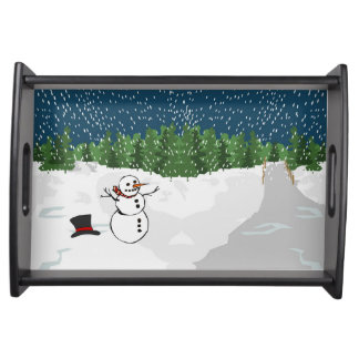 Let it Snow! Serving Tray