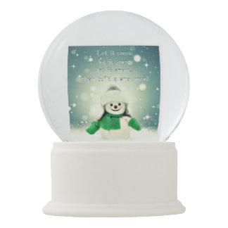 Let it Snow Snow Globe