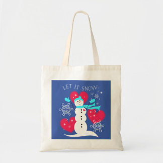 Let It Snow! Snowman Tote