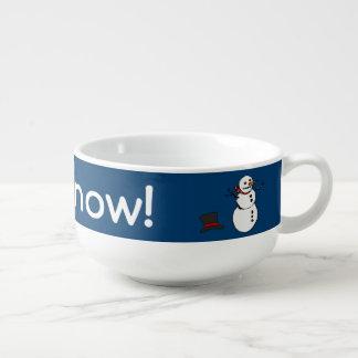 Let it Snow Soup Mug