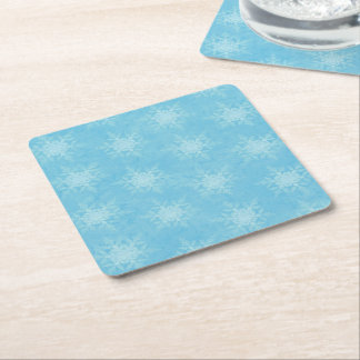 Let it Snow! Square Paper Coaster