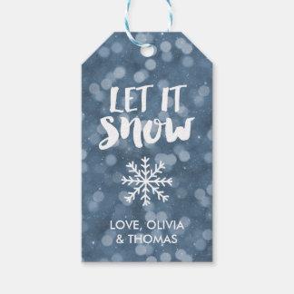 Let It Snow | Winter Night Bokeh