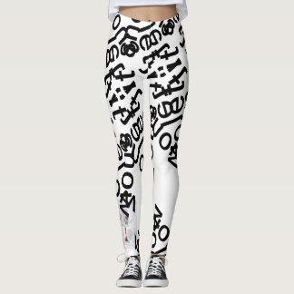 let itsnow printed leggings