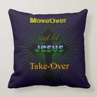 Let Jesus Take Over Cushion