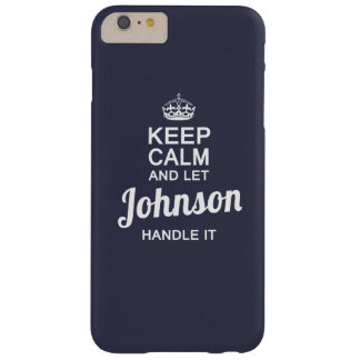 Let JOHNSON handle it! Barely There iPhone 6 Plus Case