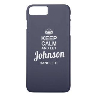 Let JOHNSON handle it! iPhone 7 Plus Case