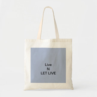 Let Live Tote