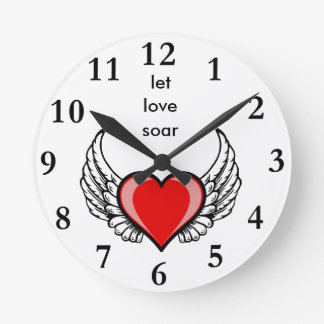 let love soar round clock