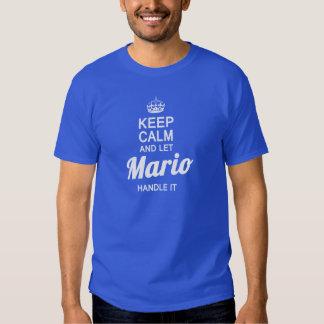 Let Mario handle it! Tee Shirts