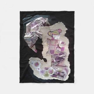 Let Me Dream japanese collage blanket