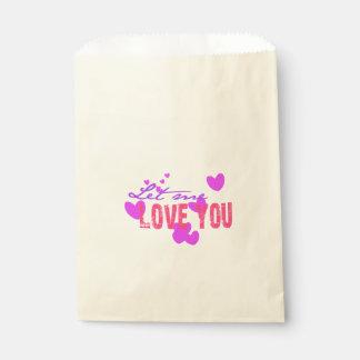 Let me love you favour bags