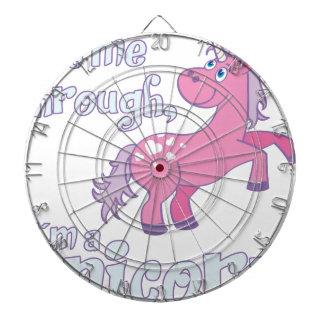 let me through i´m a unicorn dartboard