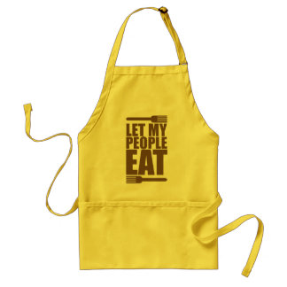 Let My People Eat Standard Apron