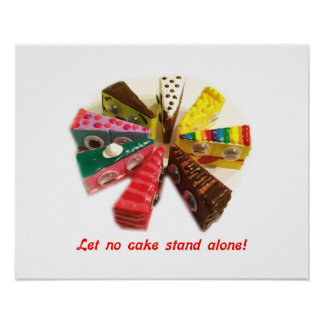 Let No Cake Stand Alone Poster